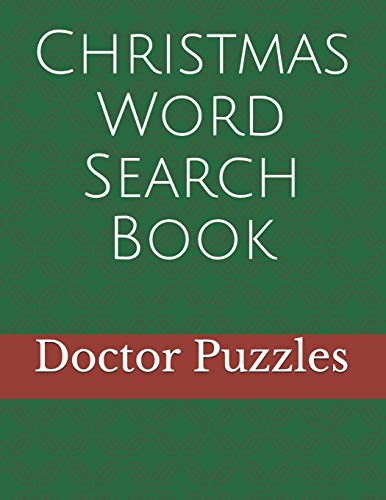 Christmas Word Search Book: Fun Xmas Puzzle Gift