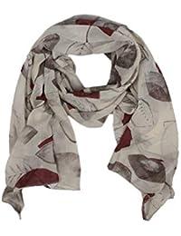 0468e537edd2ff Zwillingsherz Seiden-Tuch Damen stylisches Muster - Made in Italy -  Eleganter Sommer-schal für Frauen - Hochwertiges Seidentuch…