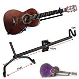 #9: Mustang NEW Electric Acoustic Horizontal Guitar Wall Hanger