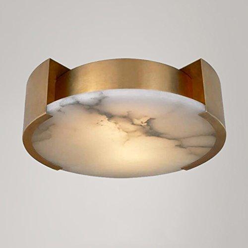 MEILING Modern Einfache Deckenleuchten Amerikanischer Stil alle Bronze Marmor Kreativ Nordic Jane Europa Schlafzimmer Studie Beleuchtung ( größe : 60*15cm ) -