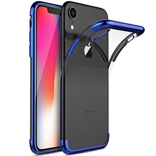 KuGi Coque iPhone XS Max,iPhone XS Max Coque Ultra Transparente Silicone en Gel TPU Souple[Anti Choc], Housse Etui de Protection...