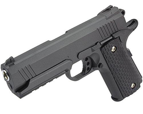B.W. GYD Master25 1:1 Pistole Softair Metal Airgun Gewehr Black Magazin Federdruck Top 0,5 Joule (GYD1002525)