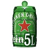 Heineken Cerveza, Barril - 5 l