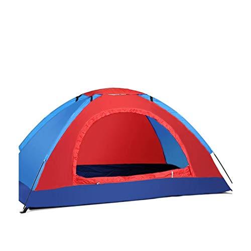 TTW Outdoor-Campingzelt, 1/2 Personen, manuelle Konstruktion, 170T Polyester Spinning, 190D Oxford, wasserdichter Regenschutz-Sonnenschutz, geeignet für Picknick-Strandpark-Rasenfläche (Color : #16) - Sonnenschutz-bundle