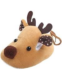Zapatos De Bebé, K-youth® Navidad Recién nacido bebé niño niña zapatos Diseño de ciervos Primeros zapatos para caminar 0-6 Mes