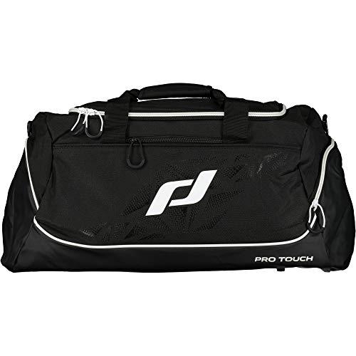 Pro Touch Teambag Force Schultertasche, Schwarz/Weiß, M