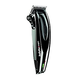 BaByliss For Men E950E Pro 45 Tagliacapelli Professionale, Lame XL, 9  Guide di Taglio, Precisione 0,6 mm con 45 regolazioni
