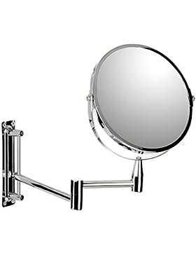 Tatay 4440200 - Espejo de Aumento x 5 con Brazo, diametro 17 cm