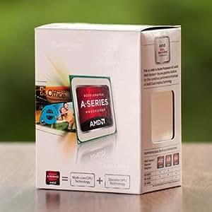 AMD A4 4000 Processeur 2 Cœurs 3,2 GHz Socket FM2 Box