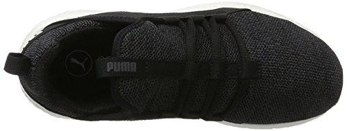 Puma Damen Mega Nrgy Knit Outdoor Fitnessschuhe Schwarz (Black-Asphalt)