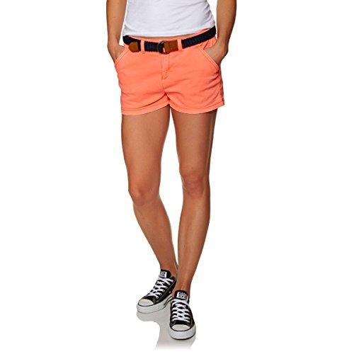 Short Superdry femme international hot coral Orange