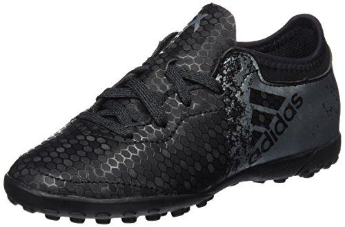 adidas Unisex-Kinder X 16.3 Cage Fußballschuhe Schwarz (core Black/dark Grey/solar Red)