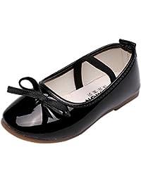 Topgrowth Scarpe da Bambina Pelle Eleganti Ballerina Ragazze Casuale Scarpe da Principessa Danza Sneaker