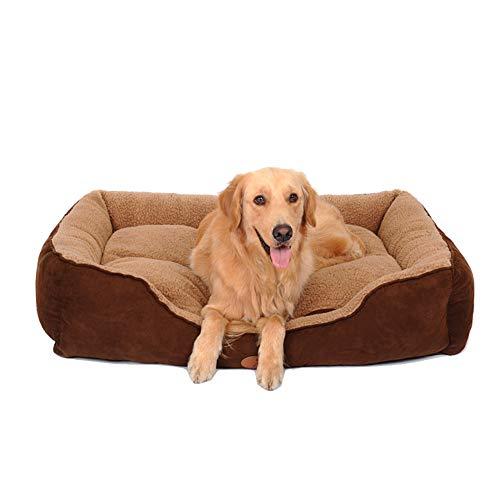 Pet Bed Self-Warming Schlafende Bett für Katzen und Kleine Hunde, waschbar Bequeme Kleine Kätzchen und Welpen Indoor Pet Nest (größe : Xxl-150×115×27cm)