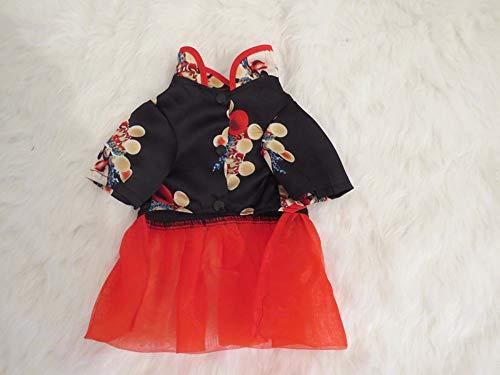 njhswlti Frühlings- und Sommerhaustierkleidungshündchen Cheongsam Kleid, XXL