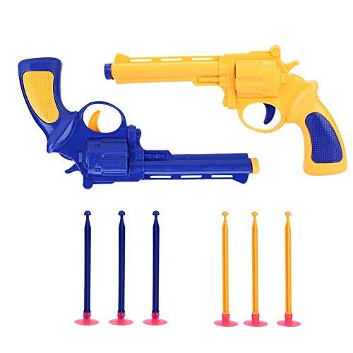 Alomejor Pistola Giocattolo da Bambini Proiettile di Gomma Pistola Classica per Cosplay da Bambini