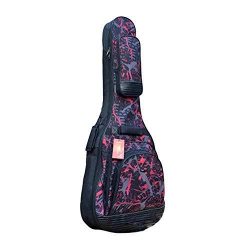 Dough.Q Gitarrentasche Akustikgitarre Gig Bag Guitar Case wasserdicht gepolsterte Gitarre Rucksack für 41/42 Zoll Elektrisch Guitar (verbesserte Version)