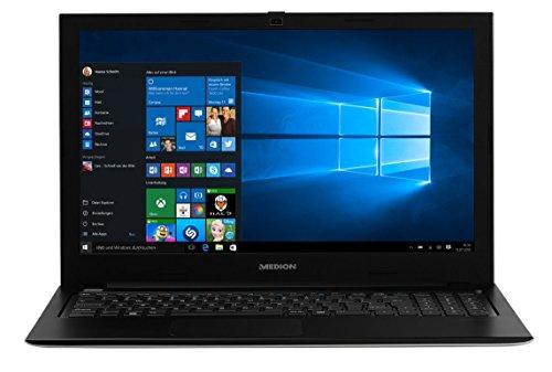 MEDION AKOYA S6219 MD 60808 39,6cm (15,6 Zoll mattes Full HD Display) Notebook (Intel Celeron N3060, 4GB RAM, 500GB HDD, Intel HD-Grafik, Win 10 Home) silber