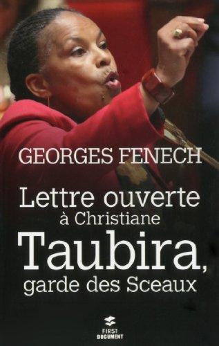 Lettre ouverte à Christiane Taubira, Ga...