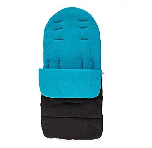 Covermason Baby Fußsack, Universal für Kinderwagen, Buggy oder Babybett (Blau)