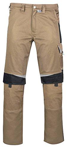 pka BESTWORK new Arbeitshose beige, Arbeitsbundhose beige, Schreiner Arbeitshose, Gr. 52