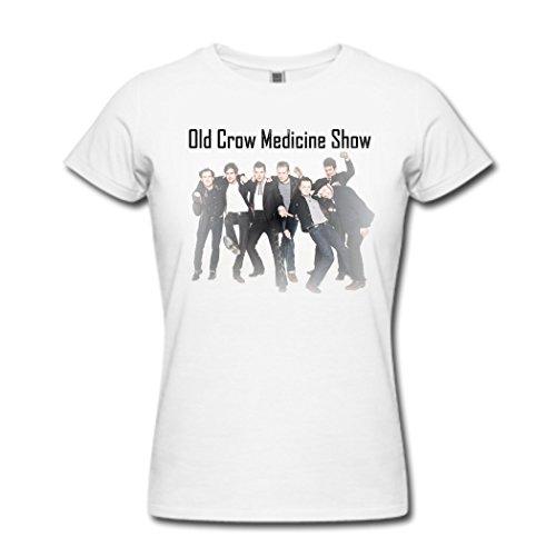 Donna's Old Crow Medicine Show Brandi Carlile bianca T Shirt X-Large