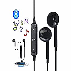 JOKIN Bluetooth Headset Wireless Sports Headphones with Mic || Sweatproof Earbuds, Best for Running,Gym || Noise Cancellation || Stereo Sound Quality || Compatible with Iphones, IPads, Samsung and other Android Devices