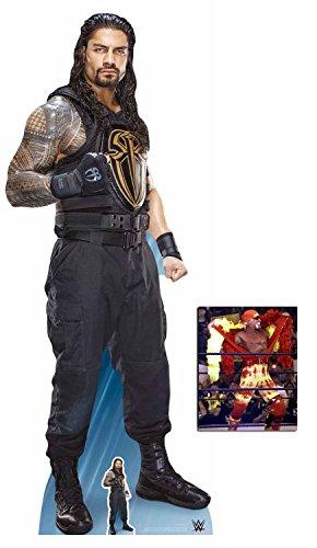 BundleZ-4-FanZ by Starstills Roman Reigns WWE Wrestler Lebensgrosse und klein Pappaufsteller mit 25cm x 20cm foto
