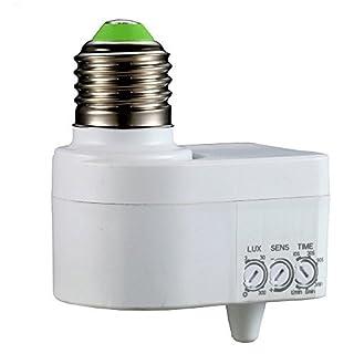 FISHTEC ® Douille Detection Mouvements 360° - Réglable - Technologie Micro-Ondes