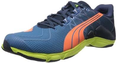 Puma Men's Mobium Elite V2 Blue Mesh Sport Running Shoes - 8 UK/India (42 EU)