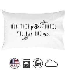 Oh, Susannah Hug Dieses Kissen, bis Sie können Hug Me-16.8Kissen Fall 50,8x 76,2cm Standard/Queen Size Kissenbezüge
