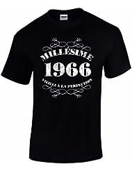 T-Shirt Anniversaire Homme 50 Ans Millésime 1966