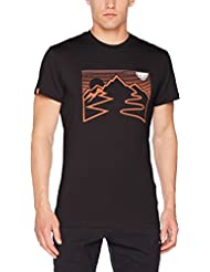 Dynafit First Track Co M S/S Tee, Camiseta para hombre, Hombre, First Track Co M S/S Tee, Asphalt 1/0010 Holzer, 50/ litros