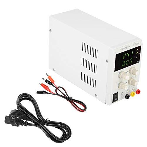 DC Power Supply Gleichstrom Versorgung STP3010D 3LED Variable Geregelte CV/CC-automatische Umwandlung 0-30V 0-10A 110 / 220VAC Umschaltbar(EU Plug 220V)