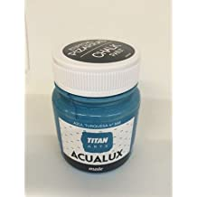 Titan Chalk Paint - Pintura efecto tiza 848 Azul Turquesa 100 ml