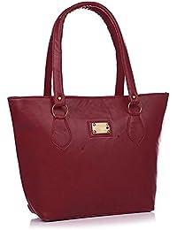 Fargo PU Women's Handbag (Maroon_FLFG-03)