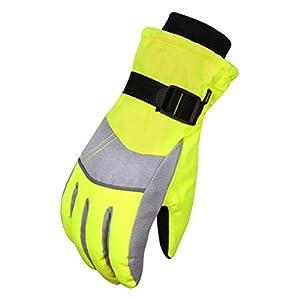 ToullGo Kinder Skifahren Handschuhe,Skihandschuhe Kinder Schnee Handschuhe,Outdoor Handschuhe Sport Handschuhe