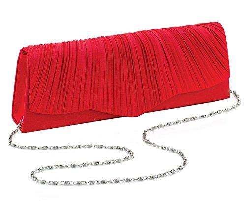 nouveau-femmes-crinkle-rechercher-ruffle-conception-pochettes-red