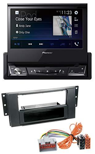 caraudio24 Pioneer AVH-A7100BT Bluetooth CD MP3 DVD USB Autoradio für Land Rover Freelander (2011-2012) Land Rover Cd