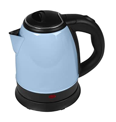 Romix JK 3 B Bouilloire électrique 360° Bleu Pastel