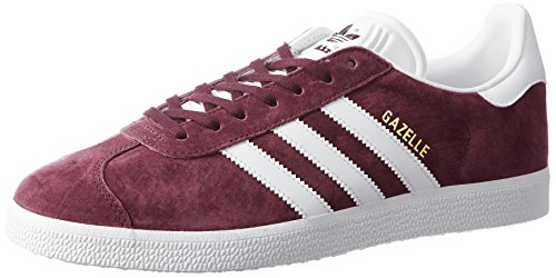 adidas Men's Gazelle Fitness Shoes, Red ((Granat/Ftwbla/Dormet)), 9 UK