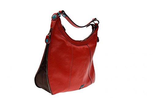 GABS donna borse monospalla ALISON PALMELLATO + VELA G000200T2 X0252 C4001 Rosso