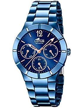 Lotus Damen-Armbanduhr Analog Quarz Edelstahl 18250/2
