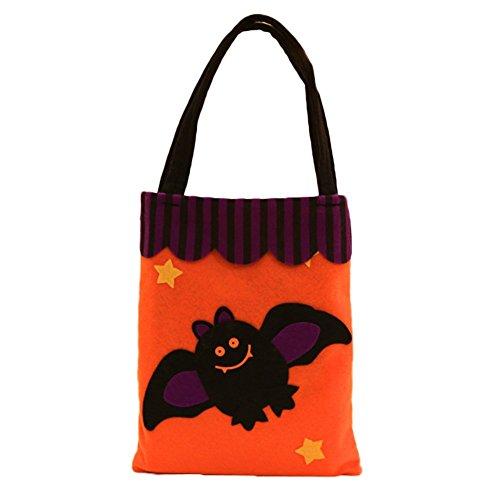 iTemer Halloween Dekorieren Lieferungen Non-Woven Decals Handtaschen Geschenk Verpackung Tasche (Halloween-geschenk-taschen)