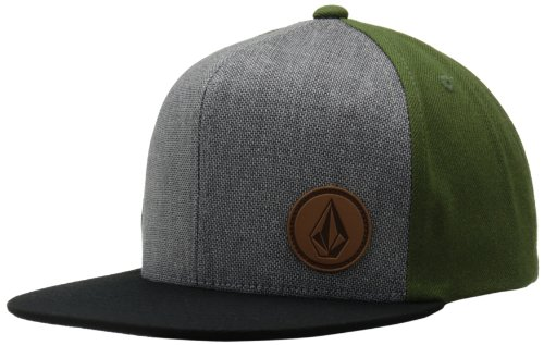 Volcom Herren Cap Upper Corner Stone Hat Military, One size