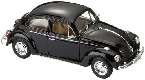 Idena 10032396 - Volkswagen Beetle 1:24, Hard-Top, schwarz Schwarz Hard Top