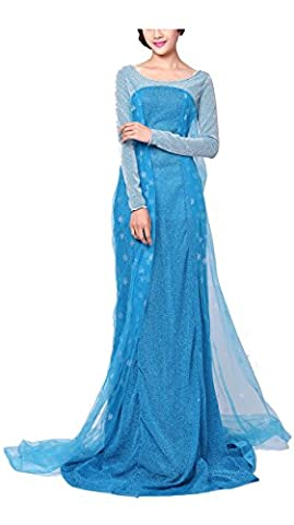 Ghope jupe Robe Costume Fancy Dress Femme Filles Anime Cosplay Halloween princesse des adulte soirée dansante cocktail boule roman