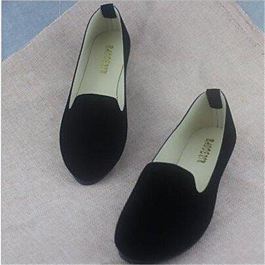 Confortevole ed elegante piatto scarpe scarpe donna tacco piatto Round Toe Appartamenti Casual più colori Availably White