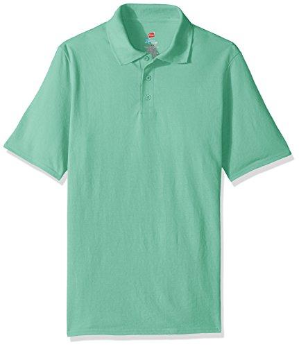 Hanes Herren Poloshirt Clean Mint