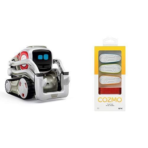 Anki 000-00067 Cozmo Roboter, Mehrfarbig &  000-00059 Cozmo Treads Gummiketten, Mehrfarbig